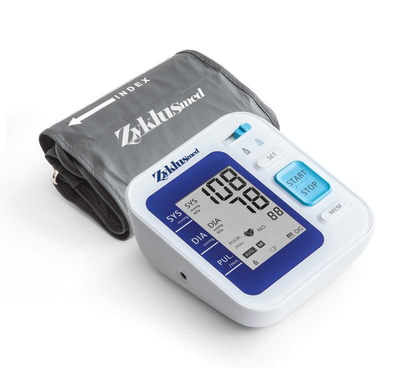 قیمت  فشارسنج بازویی دیجیتالی زیکلاس مد مدلB01 در فروشگاه اینترنتی زیکلاس مد